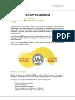 Beneficios de La Certificacion Leed