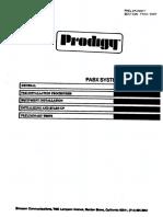 Ericsson Prodigy PABX System Installation