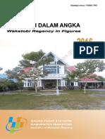 Kabupaten Wakatobi Dalam Angka 2016