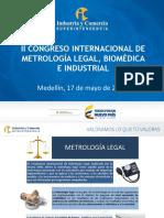 Nuevo Enfoque Del Control Metrologico en Colombia