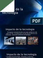 Impacto de la tecnología pptx