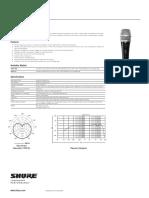 Shure PG 57 XLR Guide