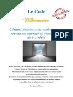 Business3g Code Millionnaire