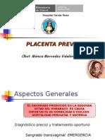 Placenta Previa Docencia