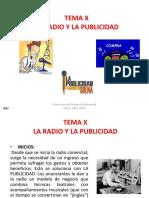 T.10 La Radio y La Publicidad