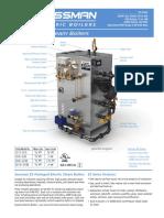 Electric Steam Boiler Sussman