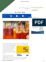Dieta Detox de Tres Días _ Belleza