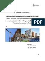 Trabajo de Investigacion Construcción e Inmobiliarias 2013