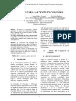 E-commerce en Pymes Colombianas