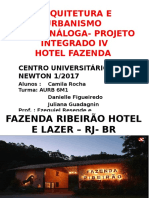 Obra Análoga hotel fazenda