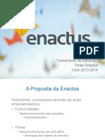 Treinamento de Líderes - Touch Points - Enactus