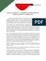 Marketing Directo y La Formulación de Programas de Ventas Aplicados a La Tecnología