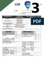 adecuaciones  evaluacion 3°