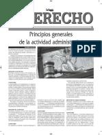 Principios Generales de La Actividad Administrativa - Autor José María Pacori Cari - Gaceta Jurídica - 2017