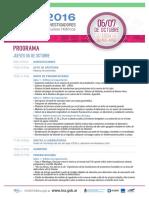 Programa IRFH 2016