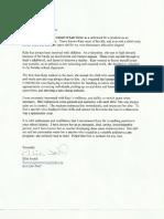 letter of recommendation - ellie