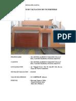 TASACION - Informe