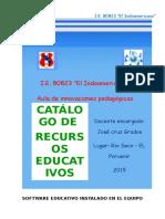 Catálogo de recursos TIC