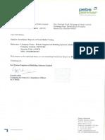 Updates on Scrutinizer Report on Postal Ballot Voting [Company Update]