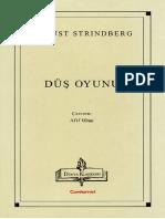 August Strindberg - Düş Oyunu
