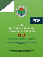 Modul Pelatihan Pratugas Pendamping Lokal Desa PLD Pendamping Desa