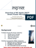 Overview of the BCIT Microgrid