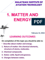 1. Matter and Energy