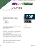 Complementos WEB_ Llamar a Imagenes en Carpetas y Subcarpetas Con HTML y PHP