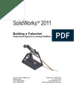 Projeto de uma Catapulta em SolidWorks