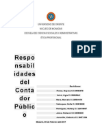 Responsabilidad del contador publico