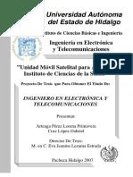 Unidad Movil Satelital Telemedicina