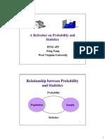 1 Probability & Statistics