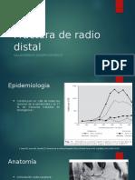 Fractura de Radio Distal