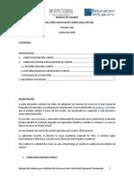 Manual usuario para solicitudes de cursos en moodle 3.1.4 UPTC