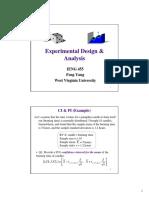 6 Experiment Design & Analysis