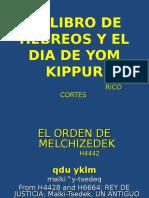 El Libro de Hebreos y El Dia de Yom Kippur