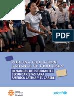 Por una educación garante de derechos