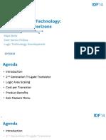 Mark Bohr 2014 Idf Presentation
