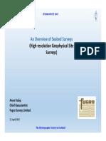 03 Hydrofest2015-Seabed Surveys