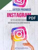 7 Strategi Promosi Instagram