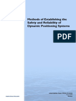 IMCA M04-04-Annex - Methods of Establishing the Safety and Reliability of DP System