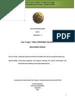 MODUL CFHC-IPE TAHUN III Mahasiswa Semester 5 Angkatan 2014