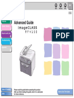 ImageCLASS MF4150 Advanced Guide En