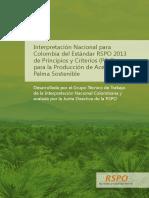 Colección Sostenibilidad RSPO Baja - Planta