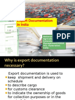 22153126 Export Documentation in India