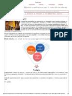 Métodos cuantitativos para la toma de decisiones – 7