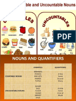 Countable & Uncountable Nouns