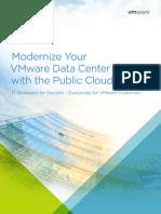 Modernize Your VMware Data Center With Public Cloud eBook