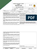 Plan Anual de Biologia Primero Bachillerato G.U Ciencias y Tecnico