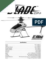 Blade CP PLUS Manual